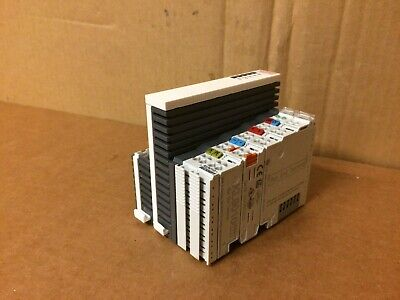 Beckhoff Cx9000-1001 Cpu 1 - Kl9010 Module Missing Cover K-bus Hdd