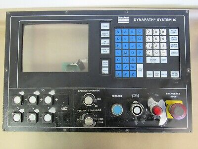 Dynapath Systems 10 Cnc Control Panel From Vulcan