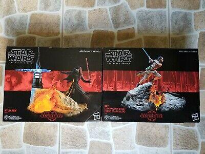 Star Wars Black Series Centerpiece Rey (Starkiller) 03 & Kylo Ren 04 Lot MIB