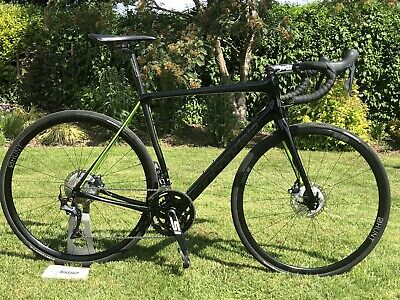 Cannondale Synapse Disc Ultegra 2018 Carbon Black Upgraded Hunt Wheels Seatpin
