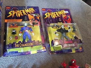 Spiderman the animated series toys from the 90s Windsor Region Ontario image 3