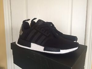 DS Adidas NMD R1, black, trace cargo SIZE 10