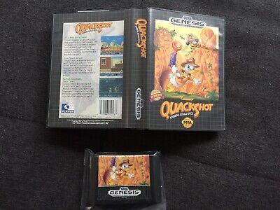 ++ Sega Mega Drive Game Quackshot Donald Duck in OVP ++ comprar usado  Enviando para Brazil