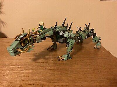 LEGO Ninjago Movie Mech Dragon 70612 + Green Ninja Minifigure 95% Complete