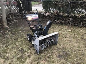 """White 4x4 snowblower. 10.5 hp 30"""" Auger. All tuned up."""
