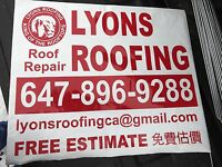 Free estimate Lyons roofing