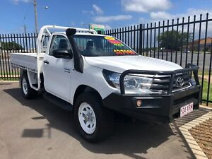 2017 Toyota Hilux SR (4x4) Bundaberg West Bundaberg City Preview