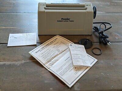 Martin Yale Premier Instant Letter Folder Paper 3 Sheet Max Model 1400 Tested