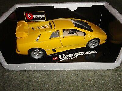 Burago 1:18 Lamborghini Diablo 1990 - Yellow (3041)