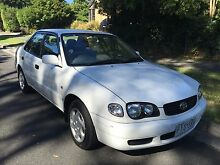 1999 Toyota Corolla RWC, REGO. Manual Rowville Knox Area Preview