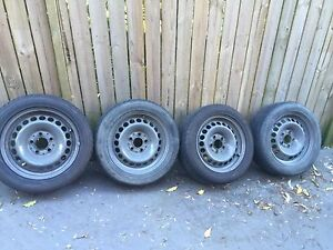 """15"""" wheels (Mercedes 5x112 pcd) with 205/50/15 tyres Beecroft Hornsby Area Preview"""