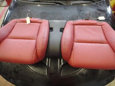 06 PONTIAC GTO OEM USED REAR RED LEATHER SEAT BOTTOM CUSHION BENCH WITH DIVIDER for sale  North York
