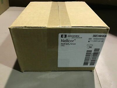 Covidien Nellcor Covidien Maxa 30kg Spo2 Sensors Qty. 24 Dated 2021