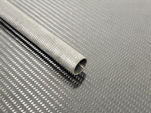 Carbon Fiber Tube Plain Weave 0.87 x 1.0 x 21.75 inch (listed 8-29-19)
