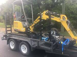 DIY and Save! - 1.7 Tonne excavator DRY hire Eagle Farm Brisbane North East Preview