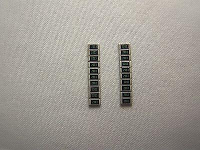 50 x SMD Widerstände Bauform 1206 Werte 1-1000 Ohm 1/% 5/% 0,25 W 1//4 W Resistor