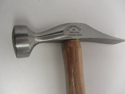 C.S. Osborne 65 Cobblers French Shoe Hammer Leatherwork Sharp Folds
