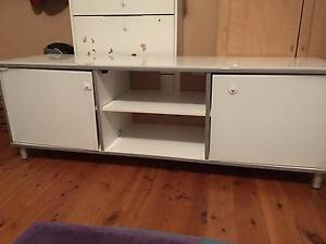 URGENT SALE- tv unit with tempered glass Chifley Eastern Suburbs Preview