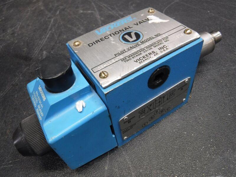 USED Eaton/Vickers DG4S4-016C-U-B-60 Directional Control Valve w/  879141 I2