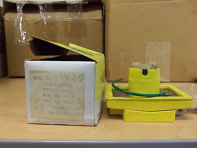 New Woodhead 69w49 Watertite Receptacle 30 Amp 277v L7-30r For Fd Box