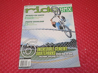 Ride Bmx magazine back issues 2001 bmx plus action albion mid school s/&m snap