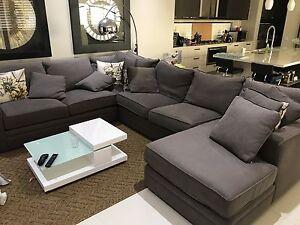 Corner modular lounge + 16 pillows Taylors Hill Melton Area Preview