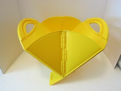 Clever & Unique Creations Collapsible Yellow Colander by Lori Greiner