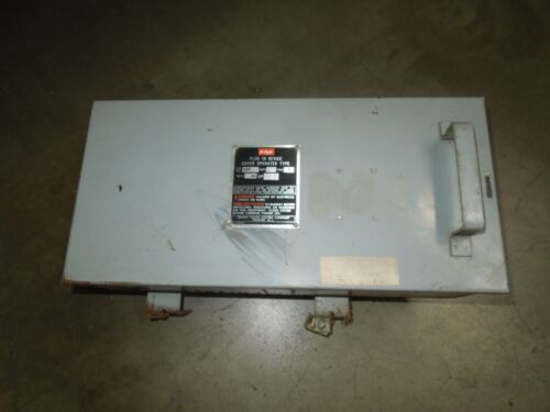 Fpe Cfp332 30a 3ph 4w 240v Fusible Cover Operated Type Plug-in Busplug Device
