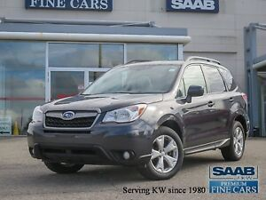 2015 Subaru Forester 2.5i Power Sunroof  6 Speed Manual Transmis