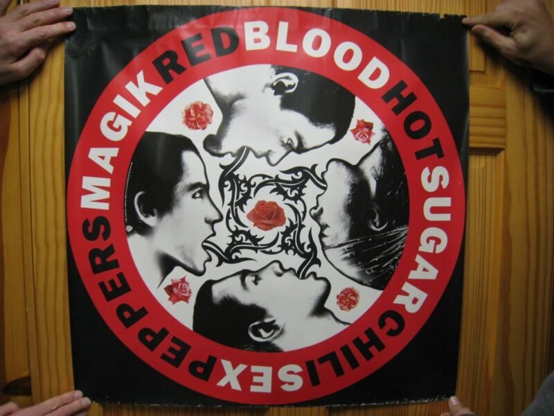 Red Hot Chili Peppers Poster Blood Sugar Sex Magic Huge Promo The