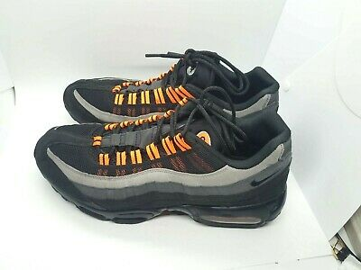 Nike AIR MAX 95 Halloween Men's Size 11 (609048 054) RARE Black/Orange Shoes - Air Max 95 Halloween