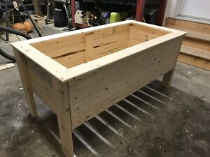 4 foot raised garden planter