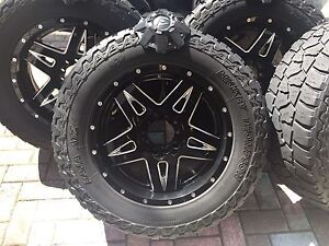 Roues Mags Fuel Off-Road Toyota Tundra