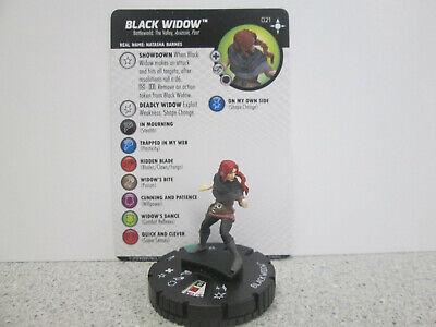 Black Widow Secret (Heroclix Secret Wars Battleworld uncommon Black Widow)