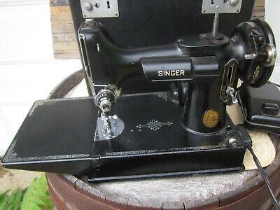 singer featherweight sewing machine 1948