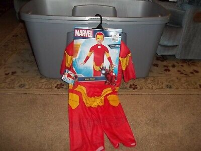Ironman Costume Toddler (INFANT/TODDLER IRONMAN COSTUME W/MUSCLE PADDING, NEW. SIZE 2-4 FOR 1-2 YEAR)