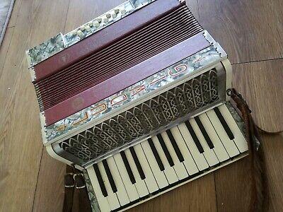 Vintage Ludwig Pine Tree Brand  Piano Accordion.
