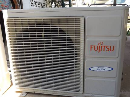 FUJITSU air conditioner outside unit only