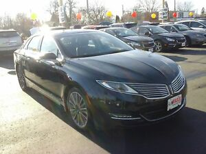 2015 Lincoln MKZ AWD- POWER GLASS SUNROOF, NAVIGATION SYSTEM, LE