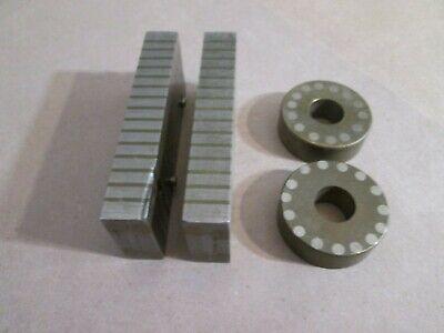 Magnetic Transfer Blocks 2 Rectangular 2 Round Set Of 4 Total
