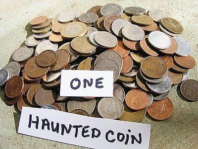 Haunted Very Active Coin Spiritual Energy + Make Wishes Zeezeer Positive Energy