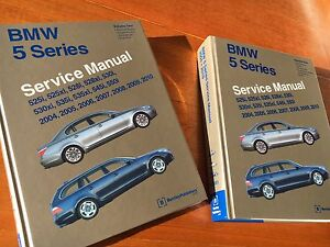 BMW E60 Series service Manuals Newport Pittwater Area Preview