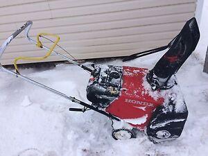 Honda snowblower