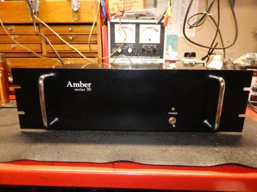 Vintage Amber Series 70 Amplifier