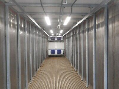 Refrigerated Meat Rail Container Freezer Or Cooler High Cube Conex Box 2021