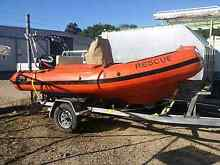 4.5m Hyperlon rigid inflatable boat Townsville Townsville City Preview