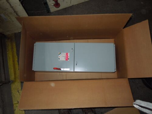 Ge Ads32200ts 200a 240v 3ph Single Fusible Switch Unit New Surplus