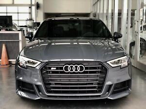 2018 Audi S3 - Technik (employee priced)