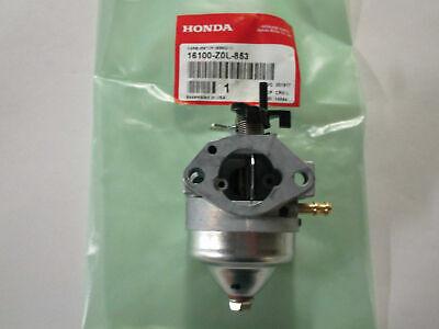 Genuine Honda 16100-Z0L-853 Carburetor Fits GCV160A GCV160LA GCV160LAO OEM