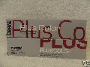 YUNSEY-PLUS-Hair-Color-Cream-Levels-2-7-2-03-oz-U-PICK-FREE-SHIP-IN-THE-US